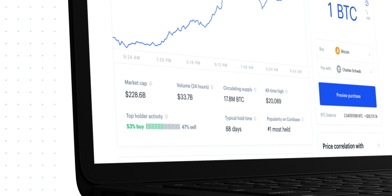 Coinbase tells you if top holders are buying or selling a crypto asset – TechCrunch