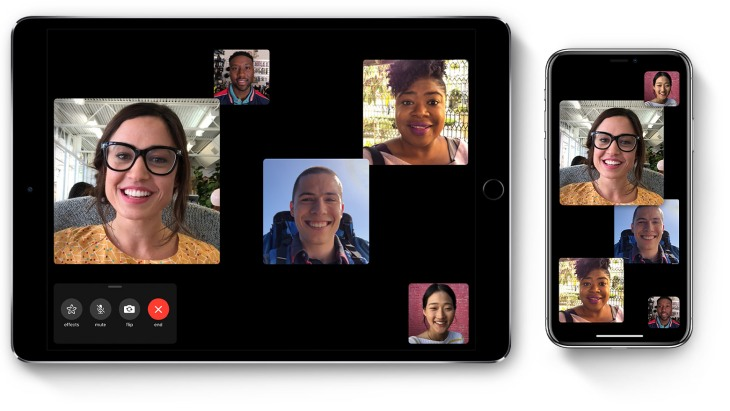 ios12 1 1 ipad pro iphone x group facetime hero