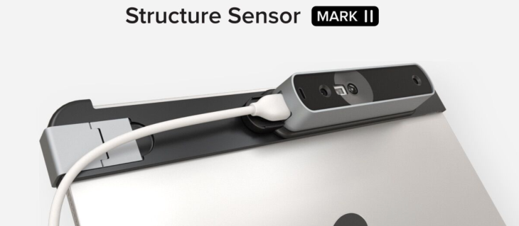 Occipital's Structure Sensor Mark II is a smaller and much improved