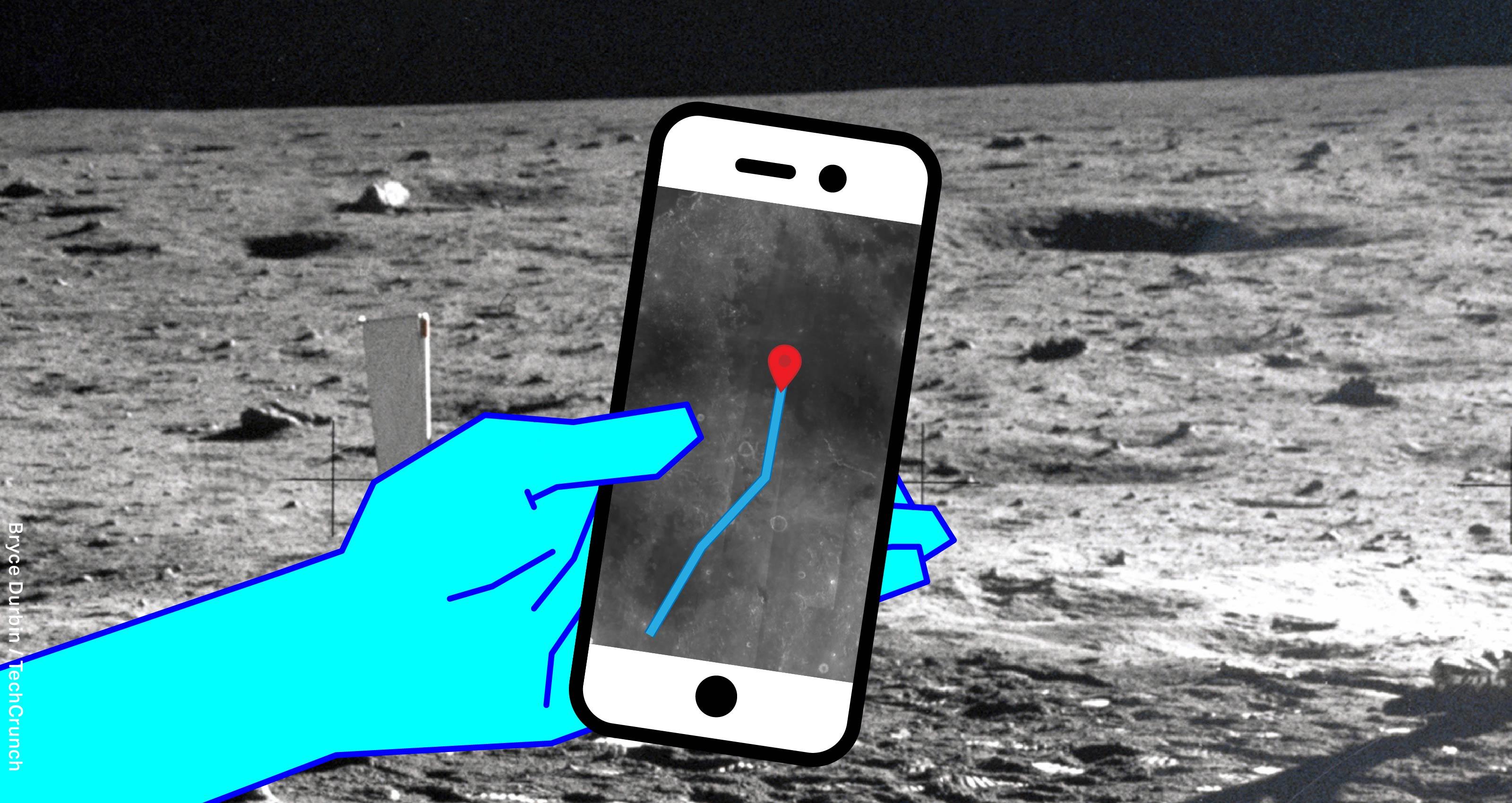 GPS di Bulan