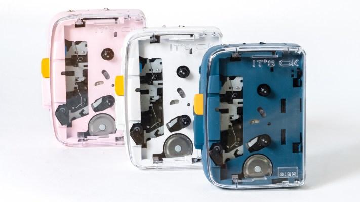 The cassette player finally goes Bluetooth – TechCrunch