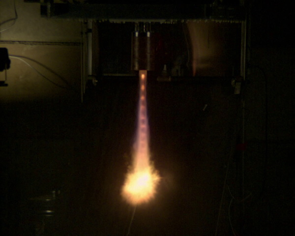 rigel thruster test - Tesseract makes spacecraft propulsion smaller, greener, stronger