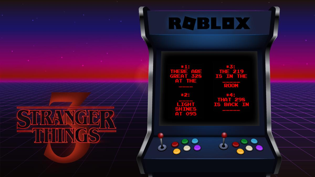 Netflix S Stranger Things Comes To Roblox Ahead Of Its July 4