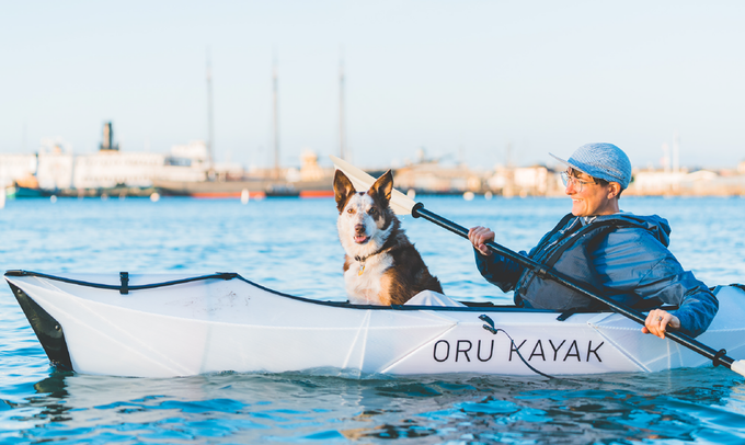 Oru's new foldable kayak weighs under 20 lbs and assembles in just 2 minutes