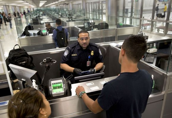 US border officials are increasingly denying entry to travelers over others' social media