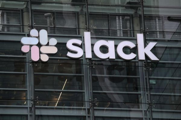 Slack's stock climbs on possible Salesforce acquisition - techcrunch