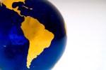 Globe Detail, South America