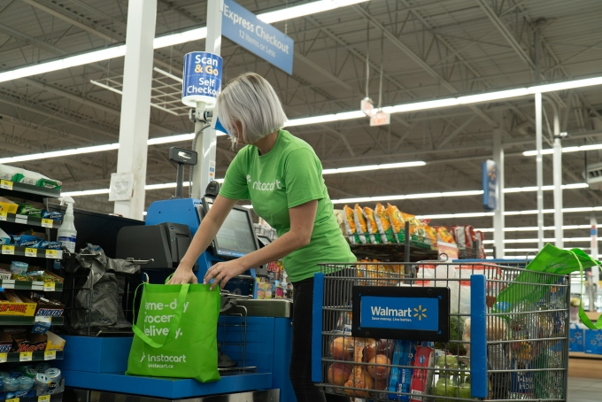 Instacart Walmart Canada Check out