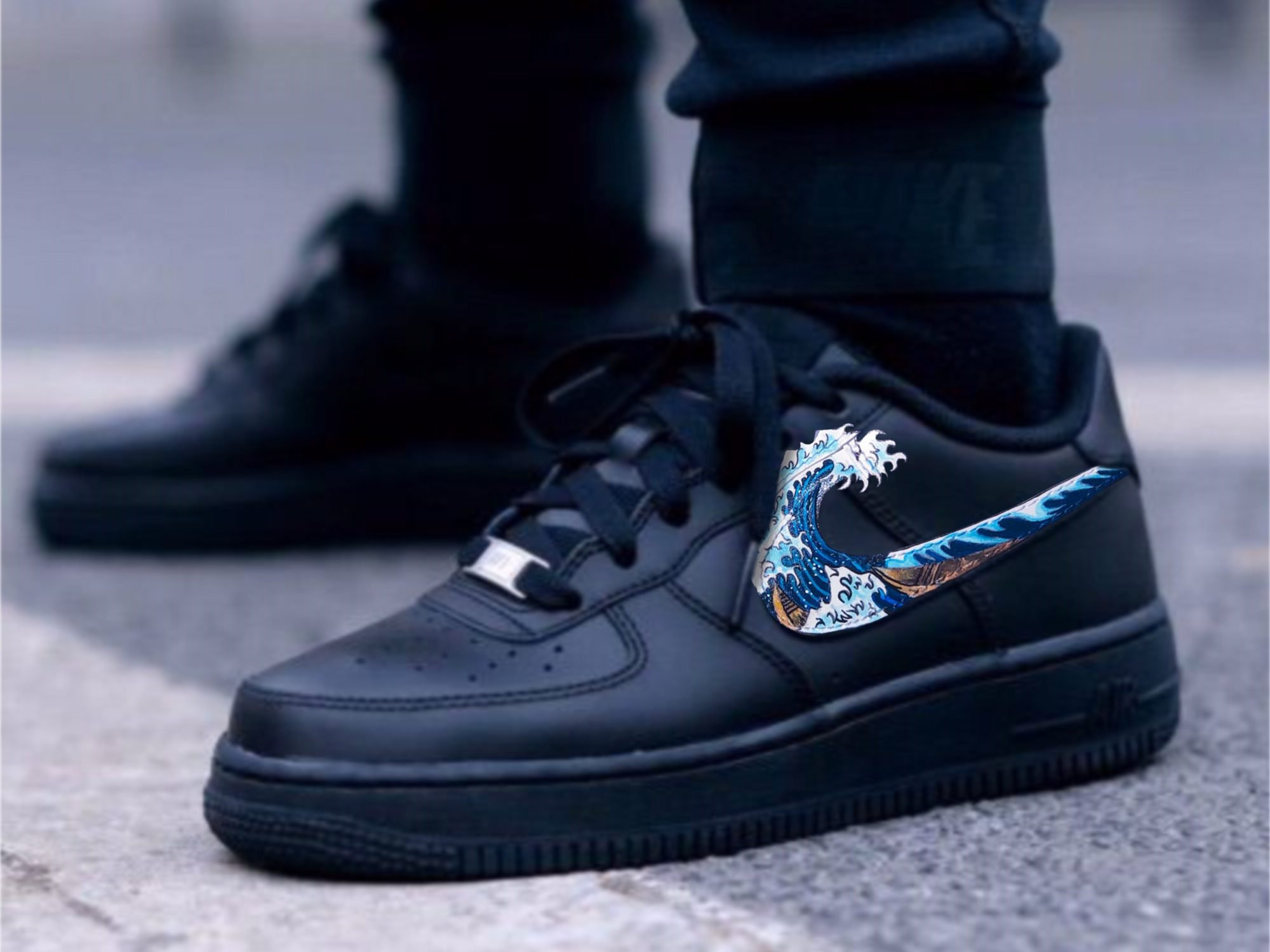 Nike's Air Force 1 Low Puerto Rico Shoes Illustrated a Lack