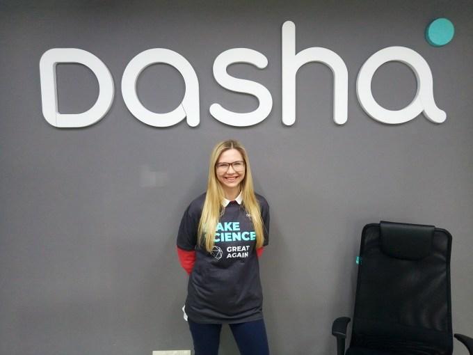 Dasha Dasha AI is calling so you don't have to Dasha AI is calling so you don't have to P90313 115951