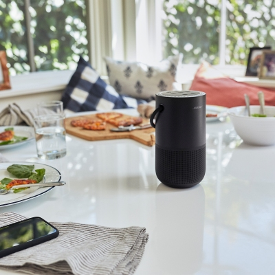 Bose's new portable home speaker sports Alexa and Google Assistant
