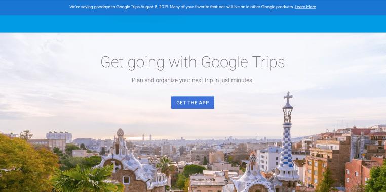 Google กำลังปิดแอป Trips thumbnail