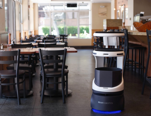 Investors are joining a sizable funding round for Bear Robotics, whose robots serve food to restaurant patrons