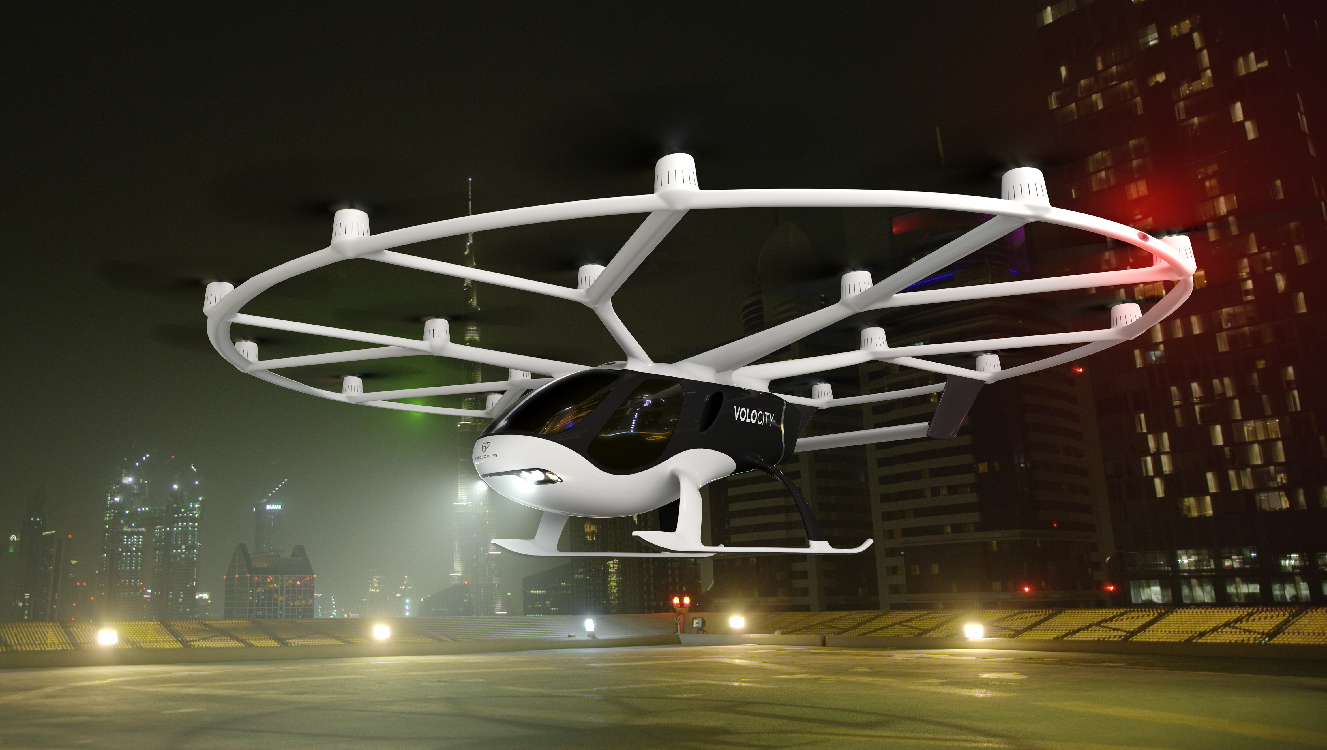 Volocopter reveals its first commercial aircraft, the VoloCity air taxi