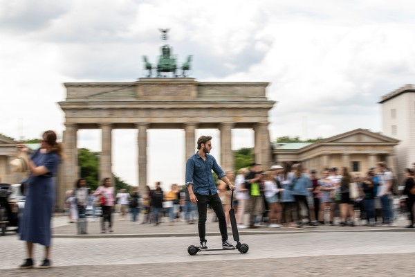 Audi's new scooter might actually solve a major problem with scooters – TechCrunch 1