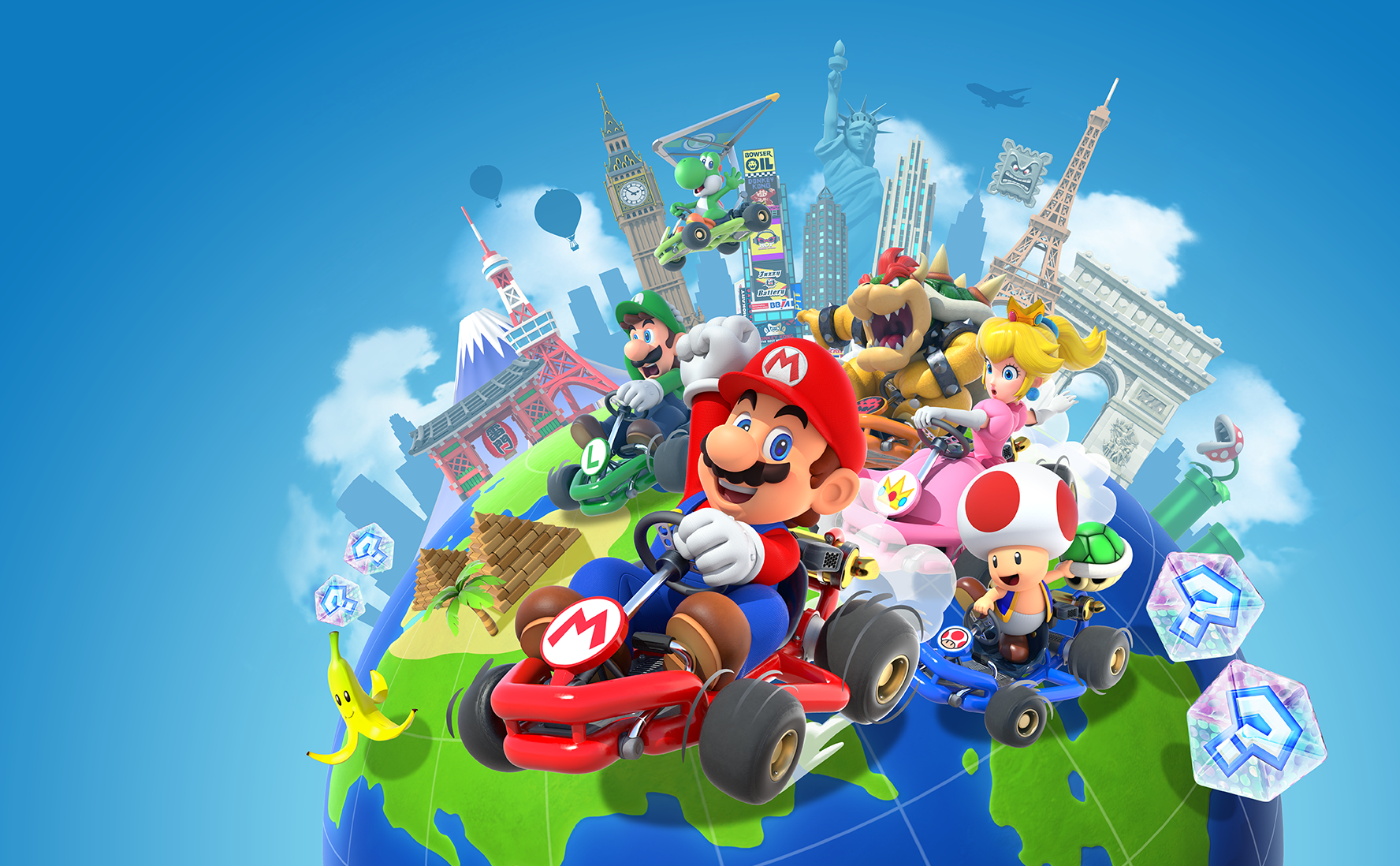 Mario Kart Tour Arrives On Ios And Android On September 25
