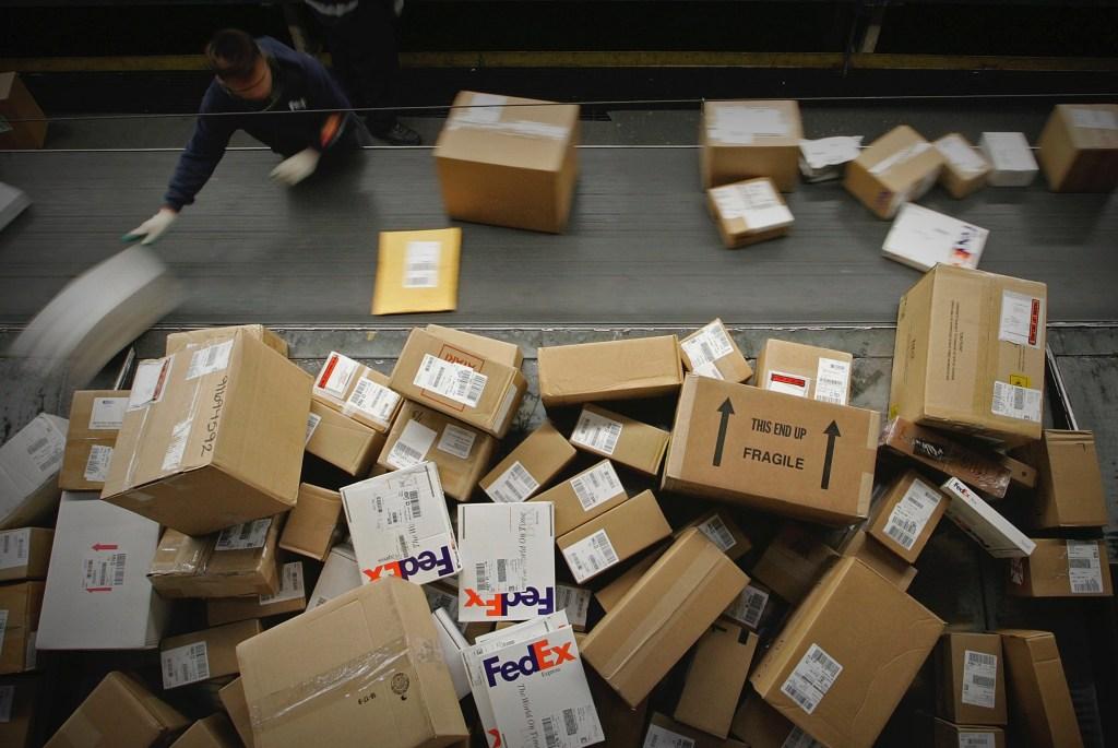 parcels drop