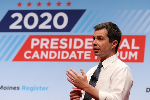 Pete Buttigieg echoes Warren with 80B rural broadband plan