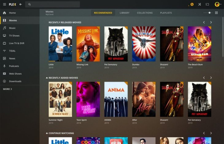 Best Home Server Os 2020.Media Software Plex Launches A New Desktop App For Mac And