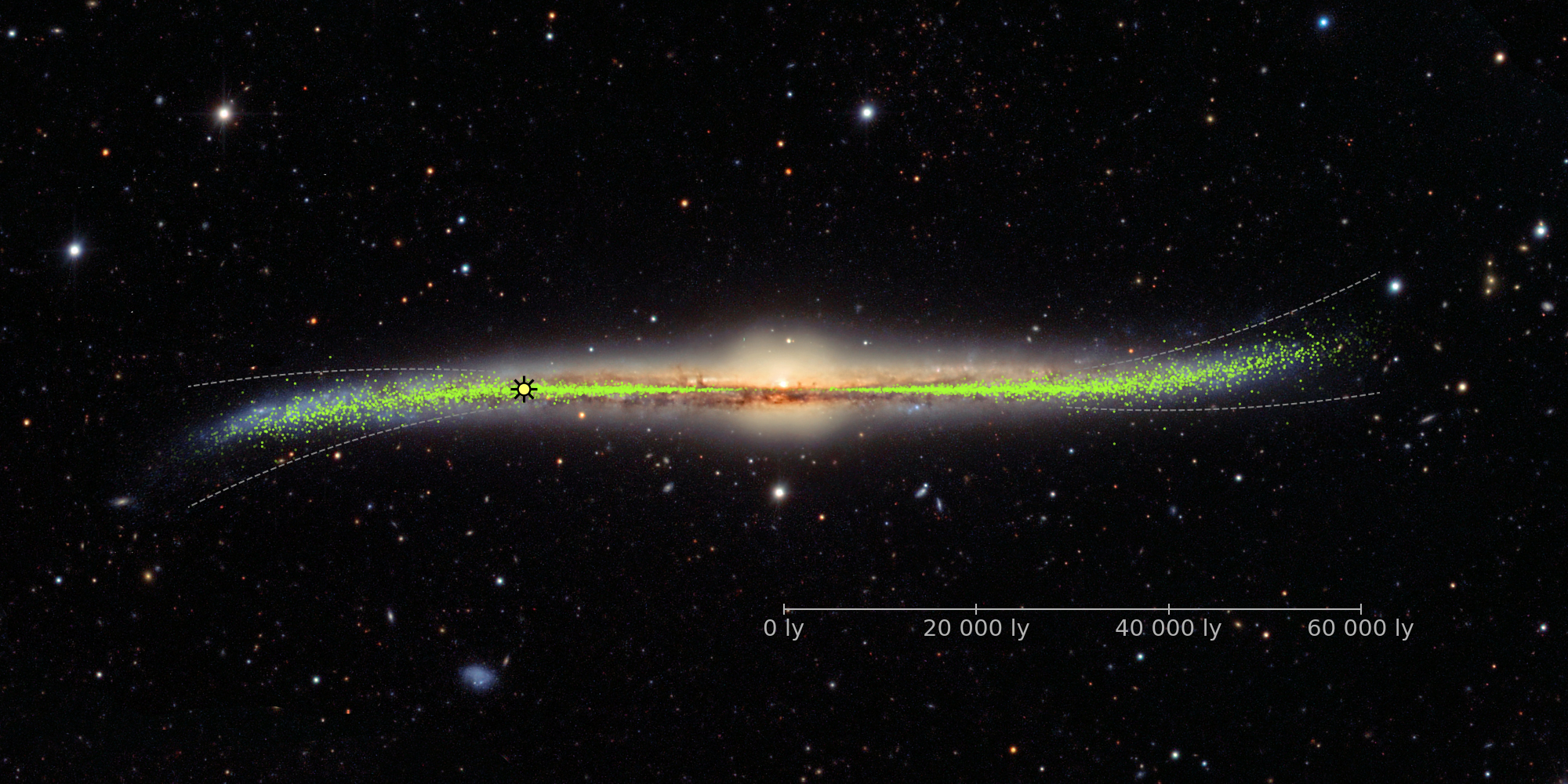 skowron4HR - The galaxy is not flat, researchers show in new 3D model of the Milky Way