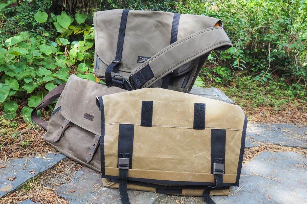 Waxed Canvas Messengers From Trakke Waterfield And Mission Workshop Are Spacious And Rugged Techcrunch