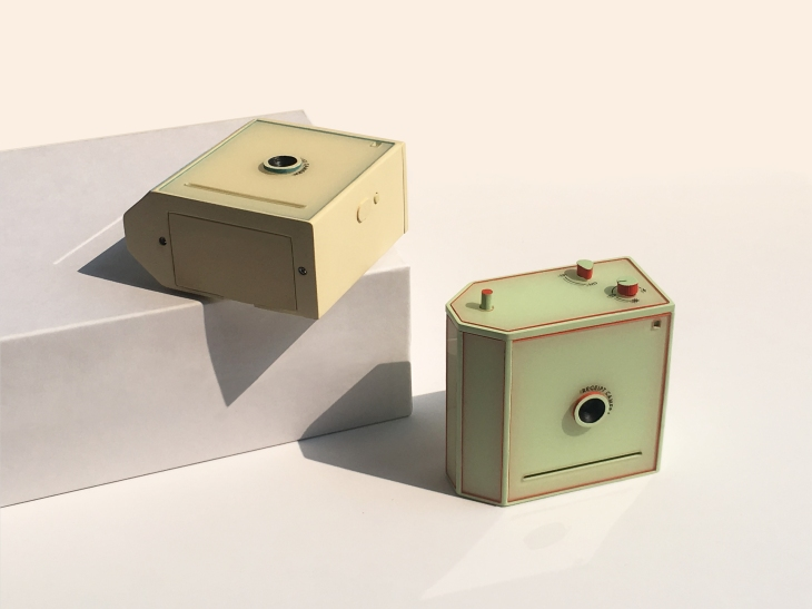 This charming little camera prints instantly to receipt paper