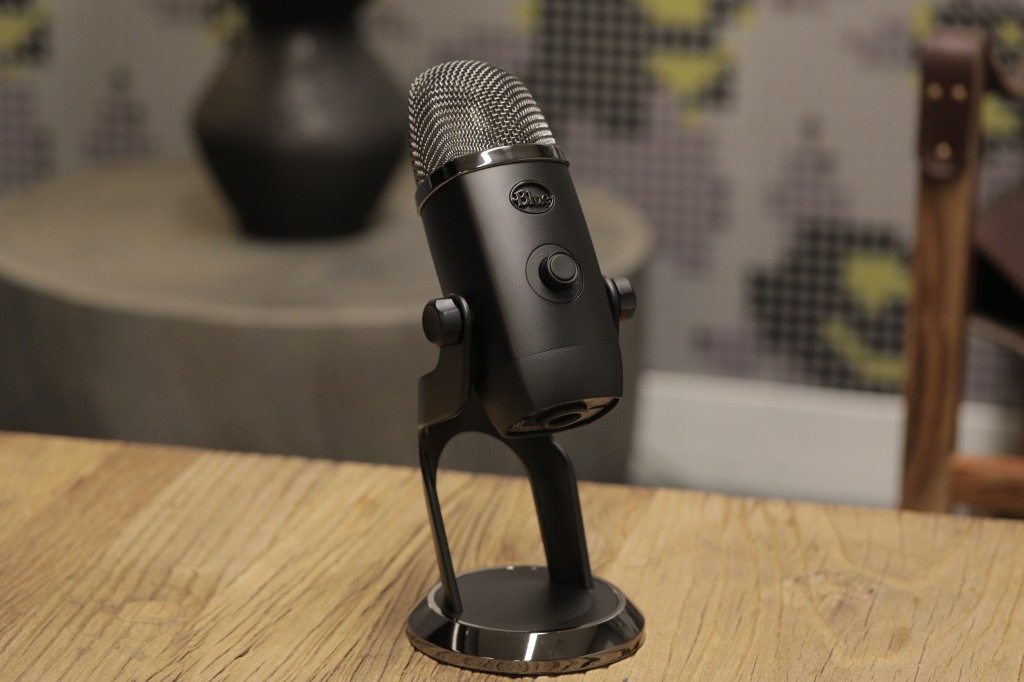 The Yeti X brings real-time level monitoring to the popular USB mic