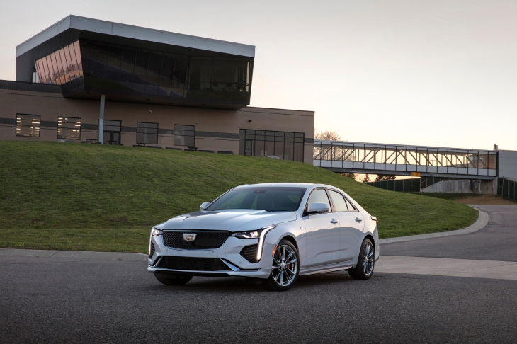 With The 2020 Cadillac Ct4 Gm Begins To Expand Its Hands