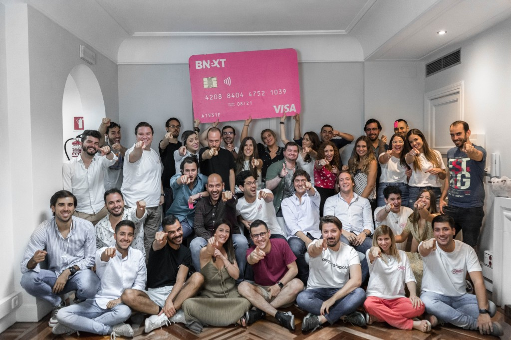 Bnext raises $25 million for its mobile banking alternative