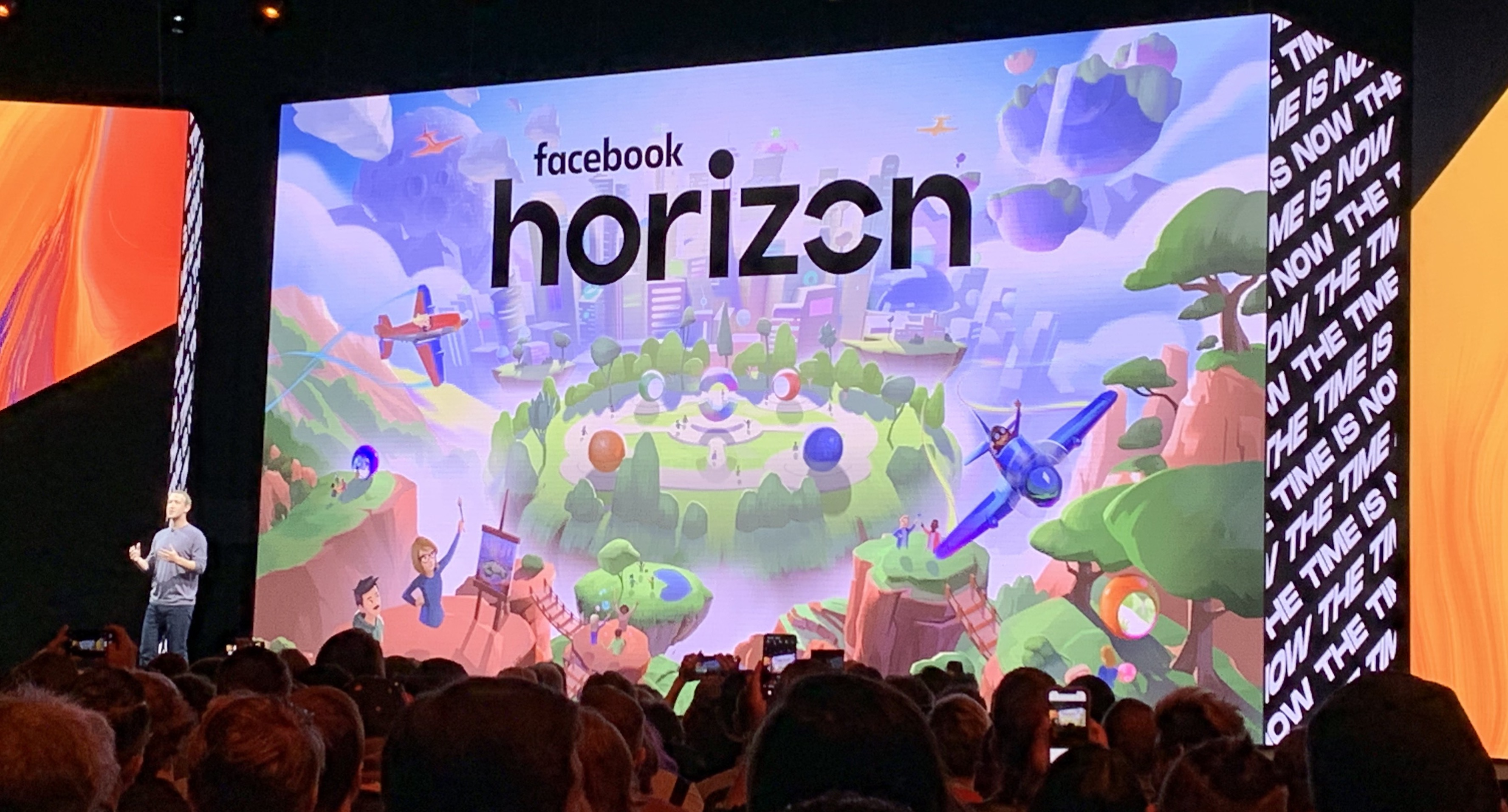 Facebook Announces Horizon A Vr Massive Multiplayer World