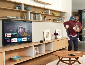 Fire TV Cube Living Room