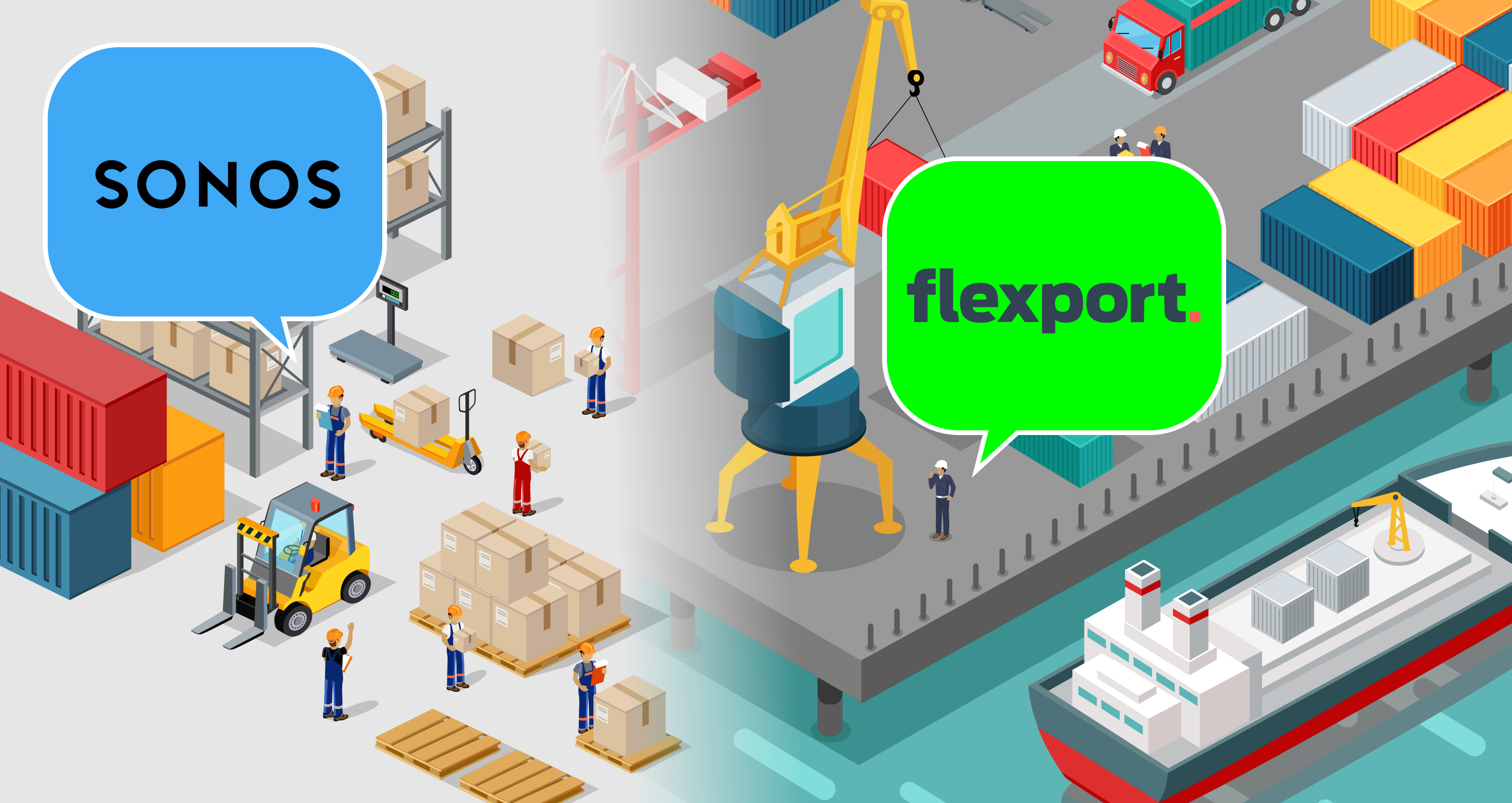 Flexport gettyimages robuart mail order factory