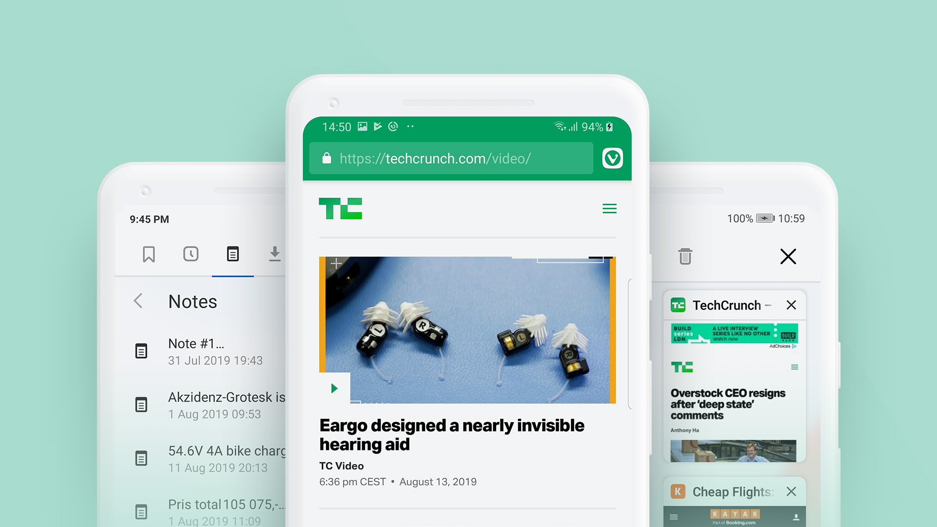 The Vivaldi Browser Lands On Android Techcrunch