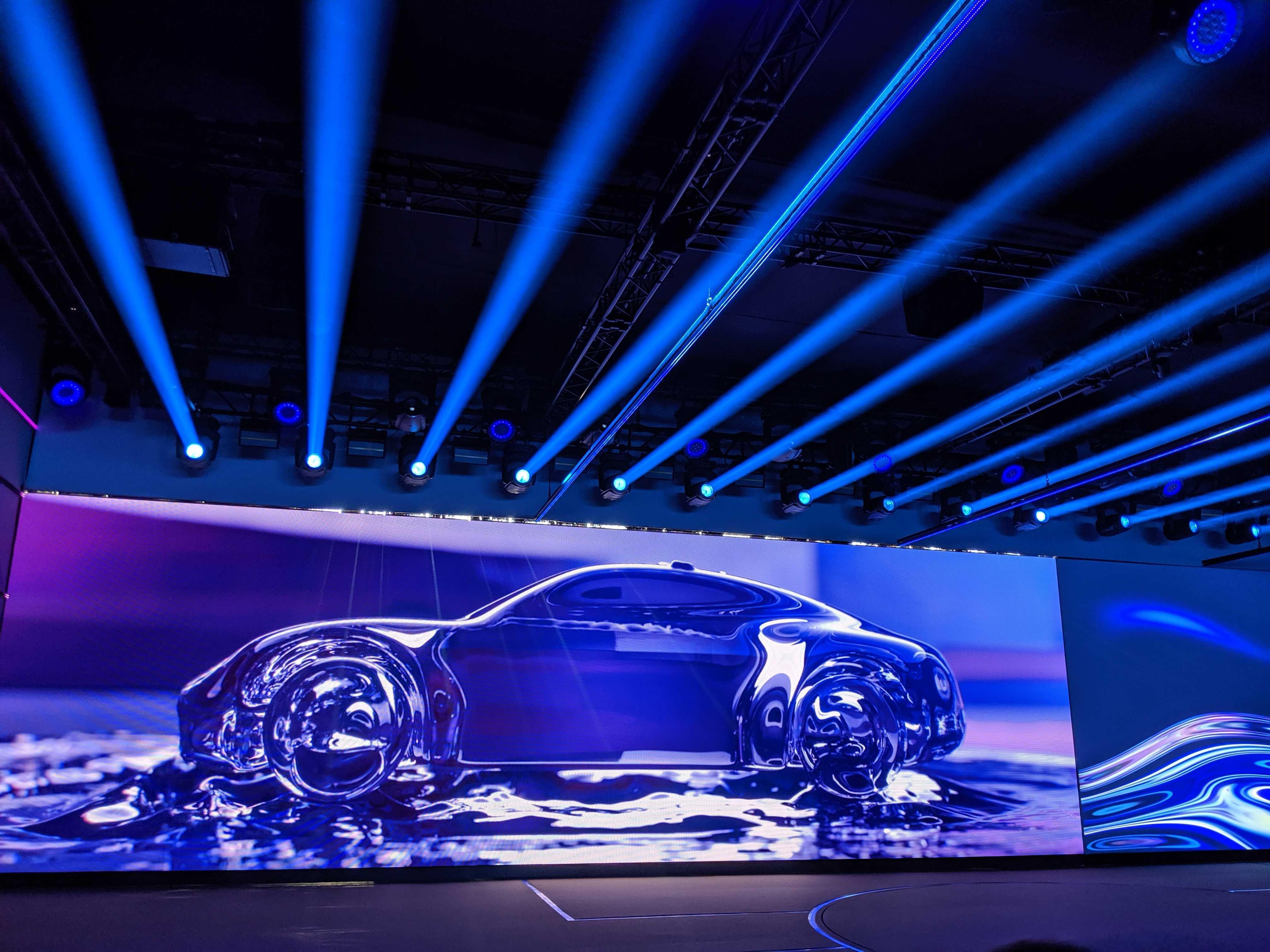 Porsche Taycan เปิดเผย