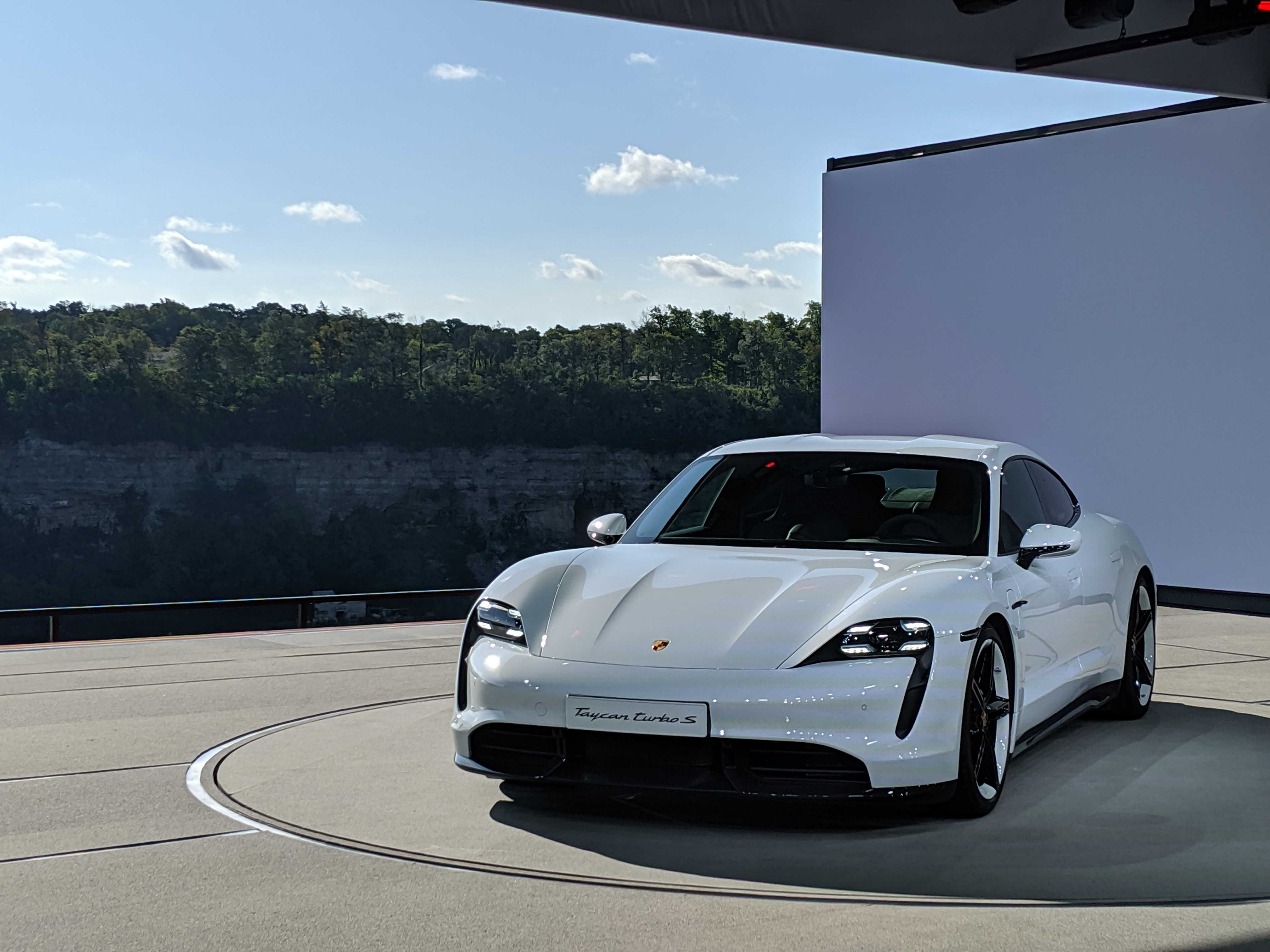 Here S Every Angle Of The Porsche Taycan Turbo S In Pictures Techcrunch