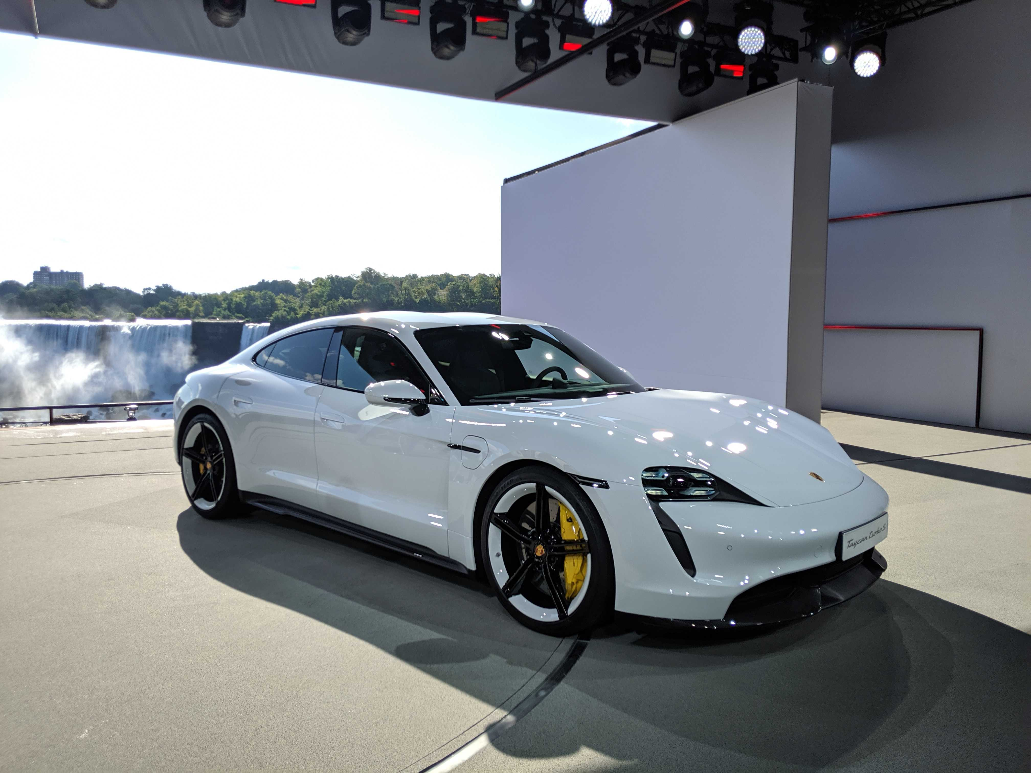 Porsche To Produce A Cheaper Version Of Its All Electric Taycan Techcrunch