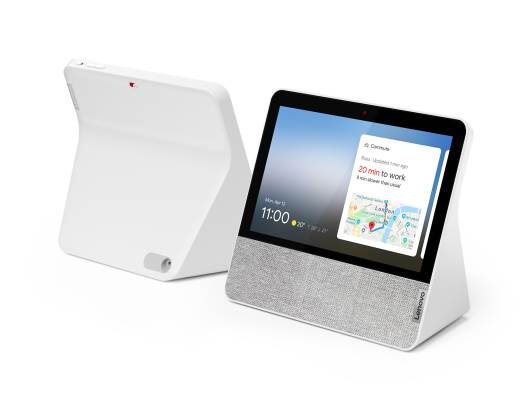 Lenovo slims down its Google smart display – TechCrunch