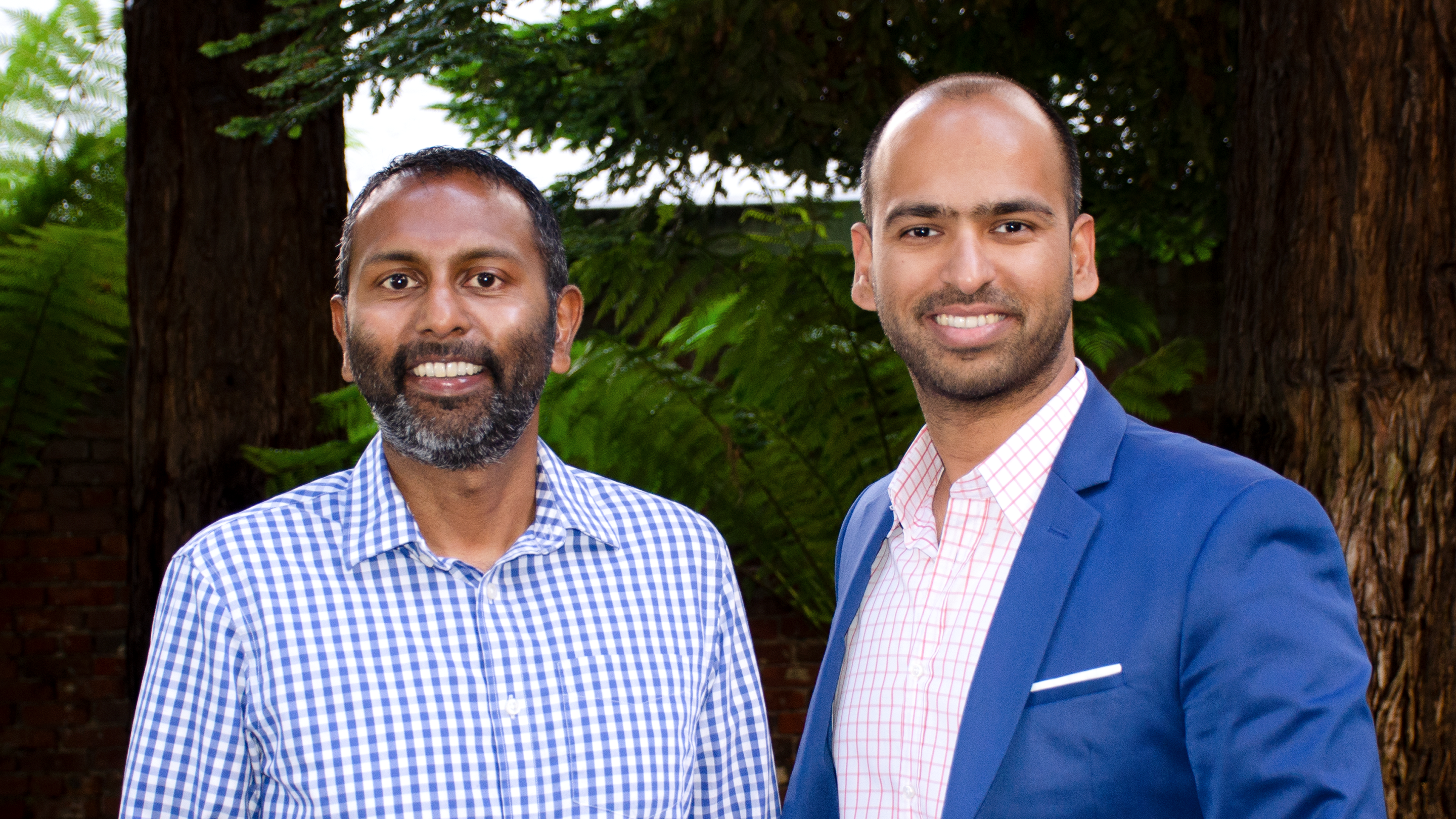 Patch Homes Co Founders Sundeep Ambati L and Sahil Gupta R