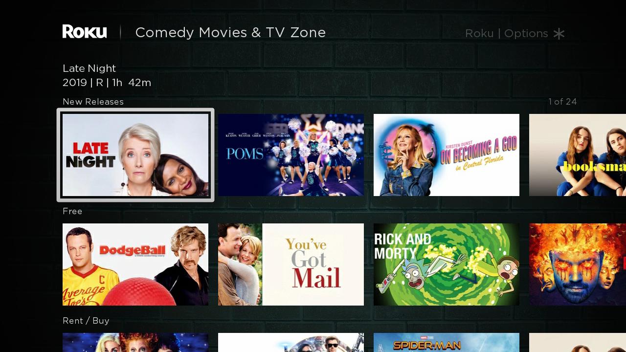 Roku Comedy Zone