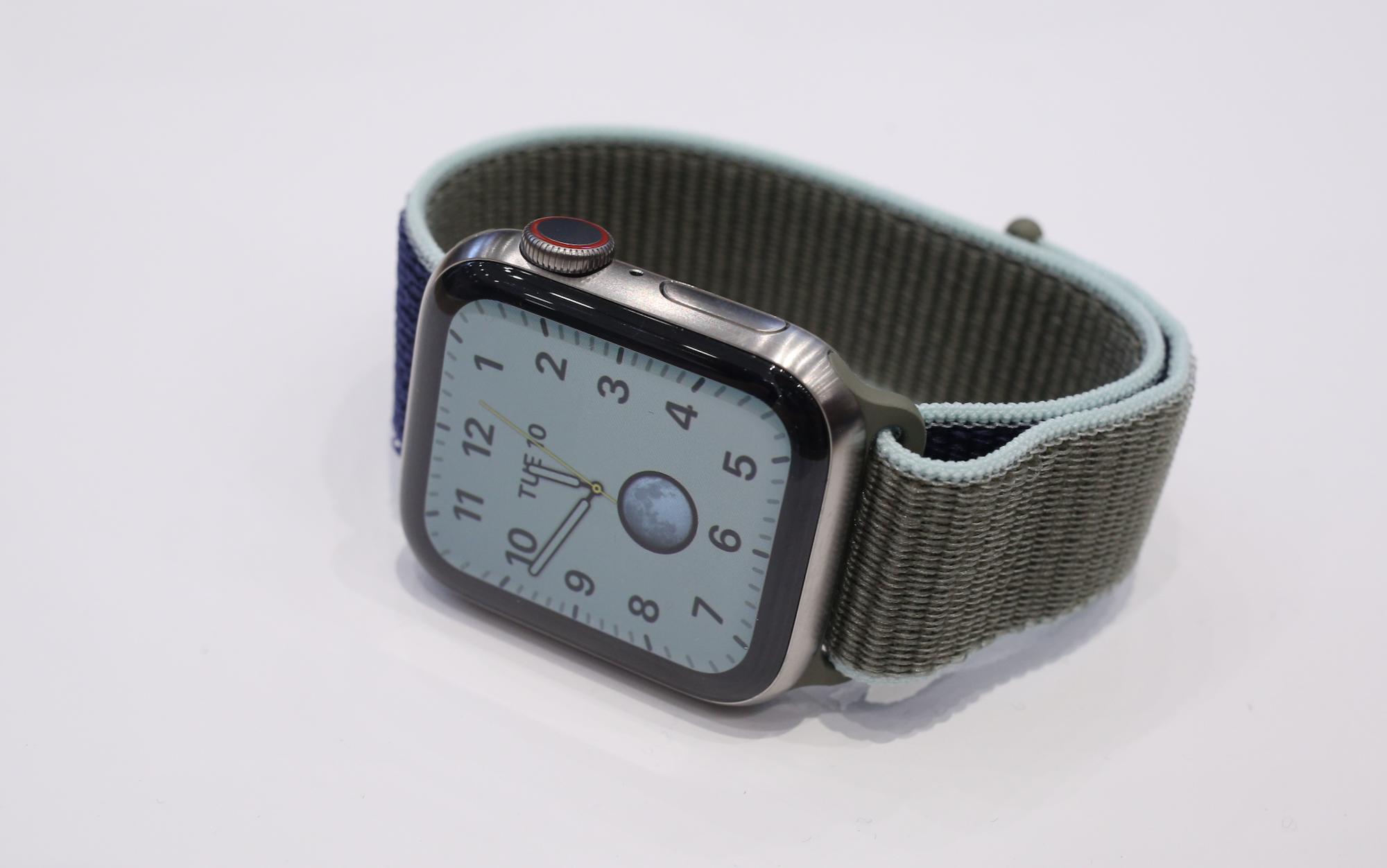 Apple Watch Series 5 hands-on | TechCrunch