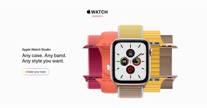 Screen Shot 2019 09 10 at 3.28.24 PM - Apple will now let you pick your own band color with launch of 'Apple Watch Studio'