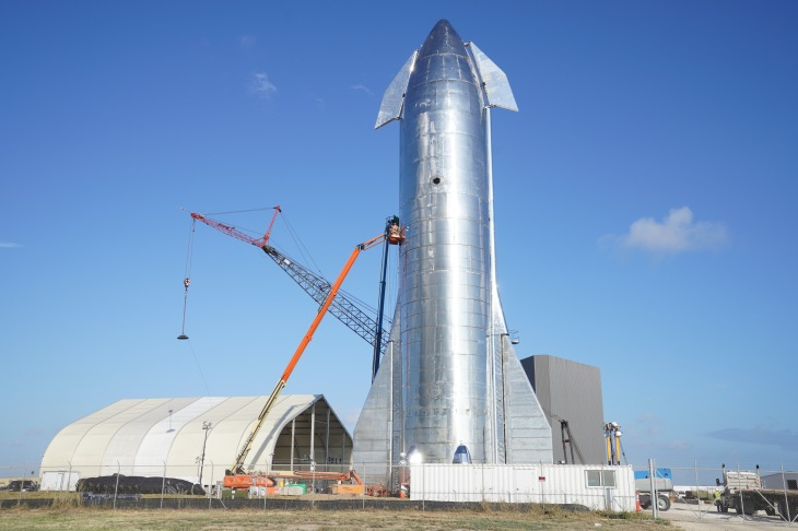 Gallery Spacex S Starship Mk1 Spacecraft Prototype In