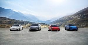 Tesla fleet S3XY