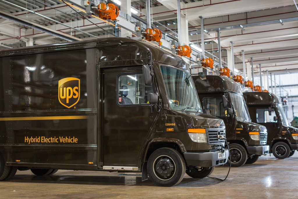 UPS introduces hybrid long range trucks that change modes based on where they are