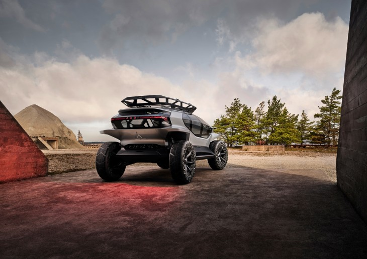 Off Road Design >> Audi S Off Roading Electric Concept Would Be Perfect For