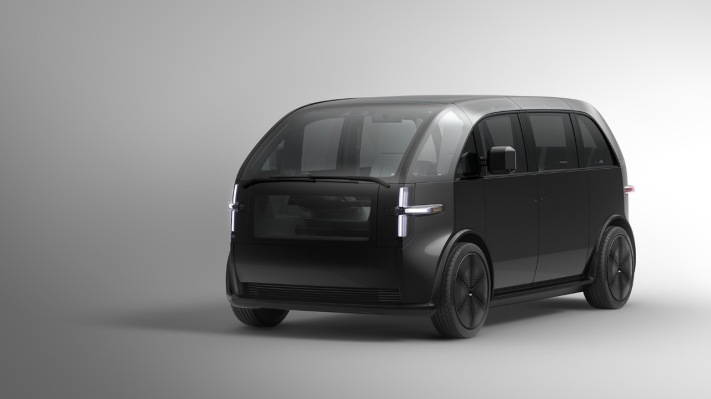 Canoo takes the covers off of its debut electric vehicle