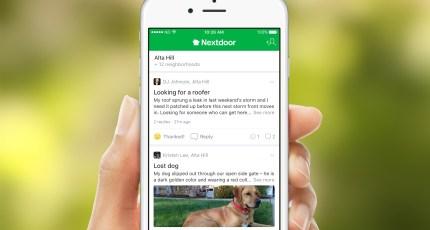 nextdoor iphone