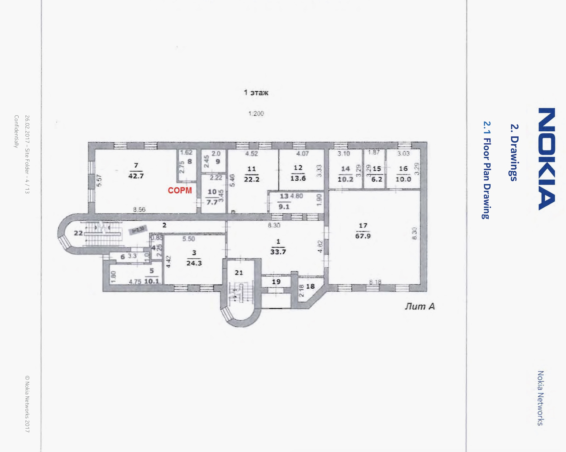 nokia floor plan