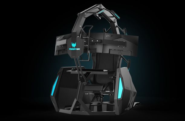 Acer announces a ,000 gaming chair because why not – TechCrunch