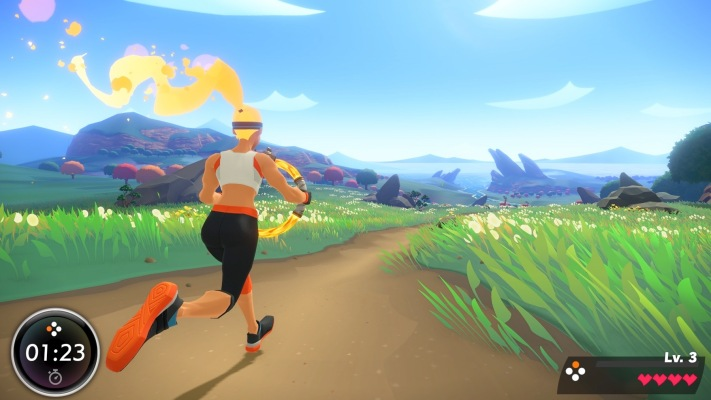 Nintendo shows off exercise-powered RPG for Switch, Ring Fit Adventure